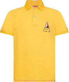 Slim Fit Poloshirt mit Surf-Logo