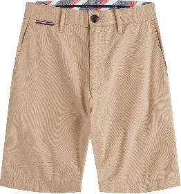 Leichtgewichtige Shorts aus Baumwoll-Twill