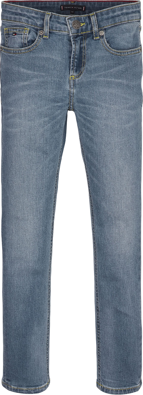 Scanton Slim Fit Jeans mit Fade-Effekt