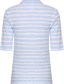 Poloshirt mit Streifen