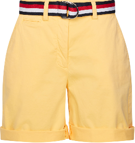 Bermuda-Shorts mit Gürtel