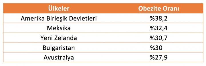 Türkiye'de ve Dünyada Obezite 2