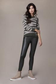 Donna skinny vegan leather