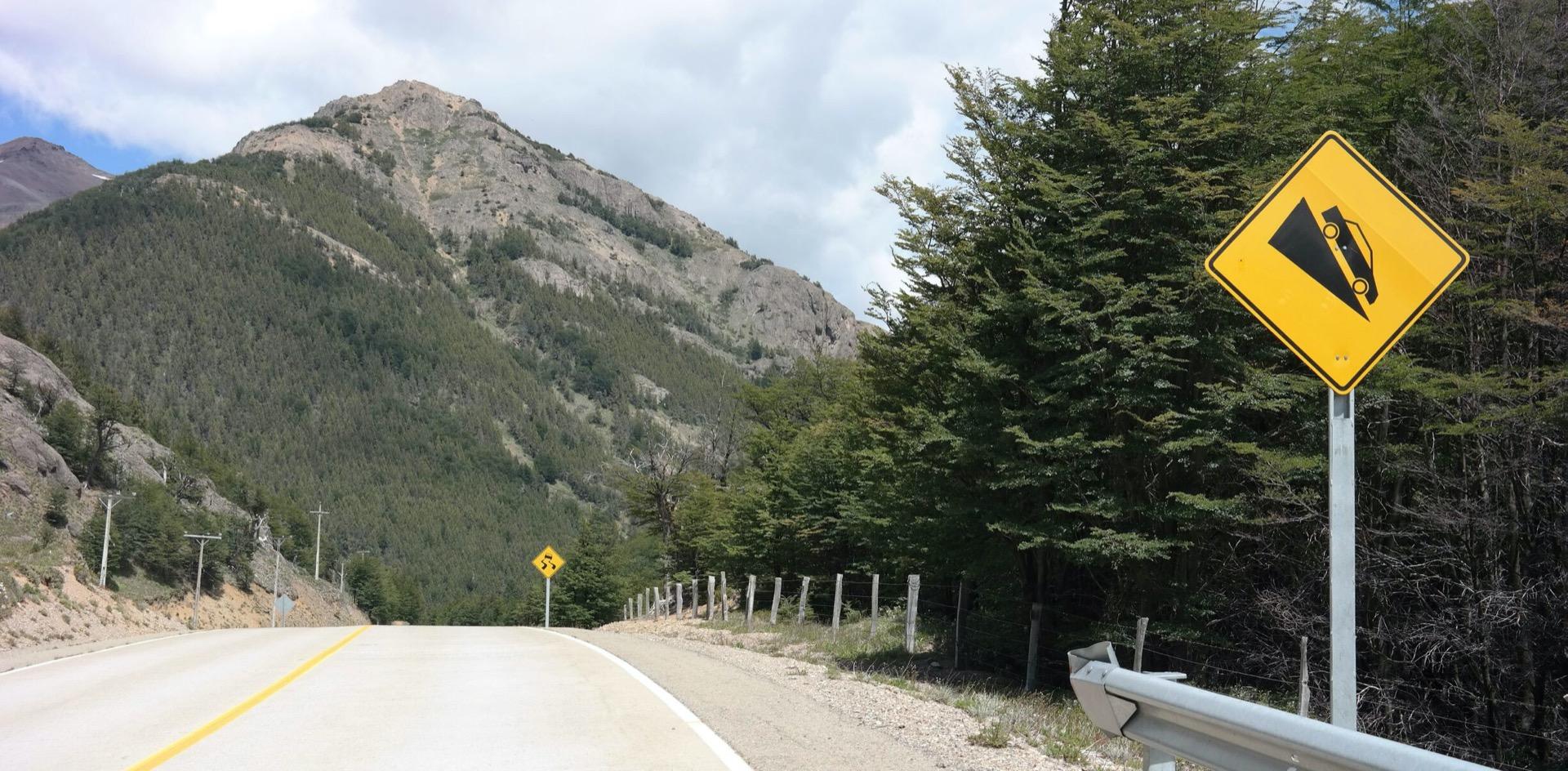 Carretera Austral weg