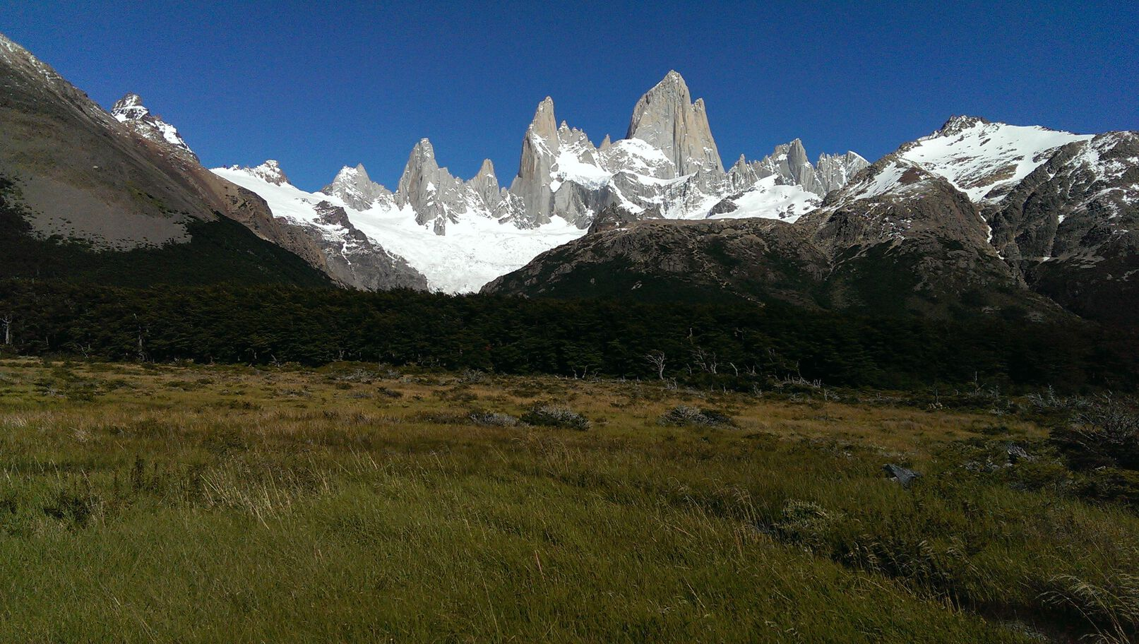 Fitz Roy from a distance