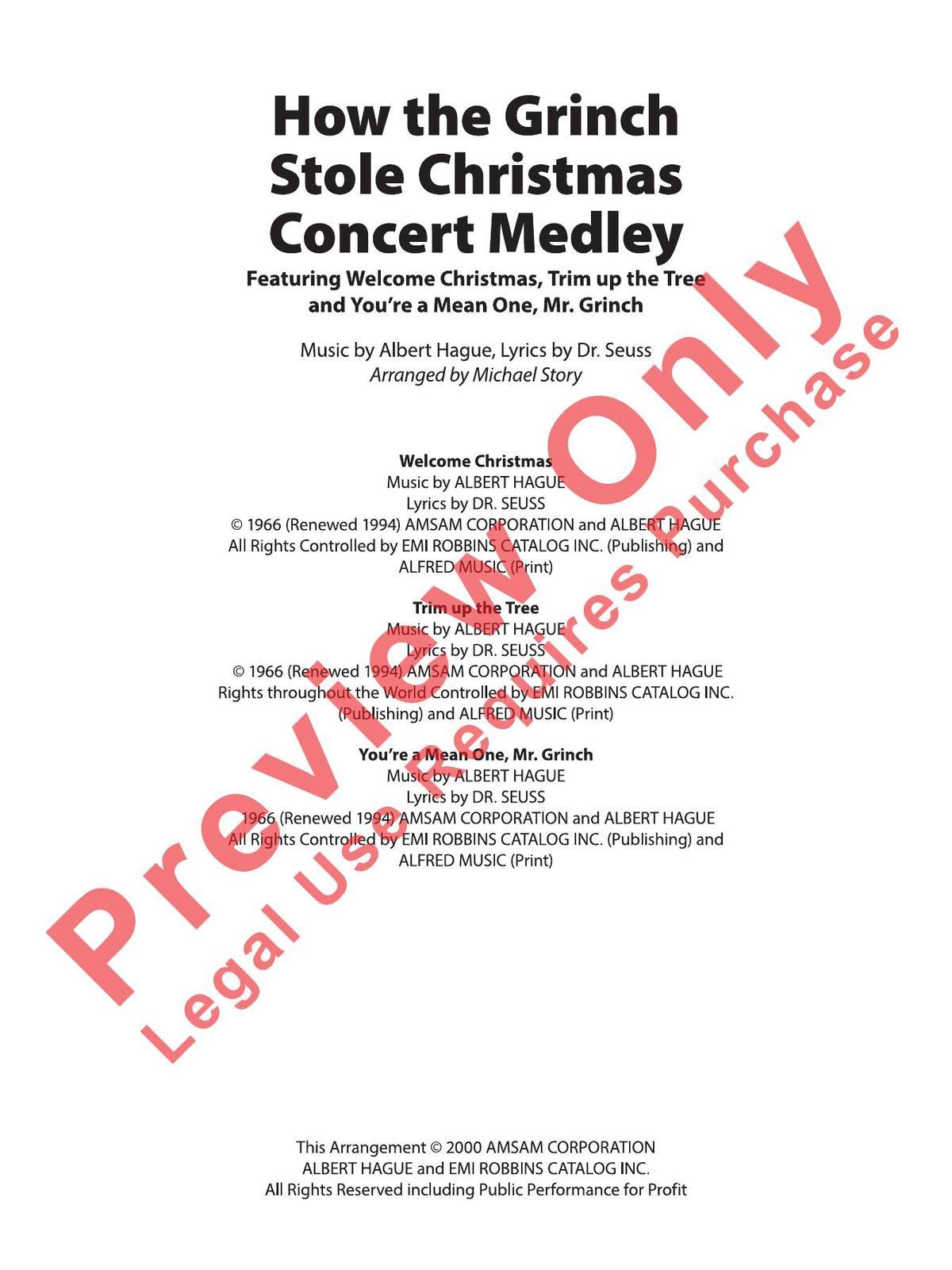 How The Grinch Stole Christmas Lyrics.Dvo Druck Und Verlag Obermayer Gmbh