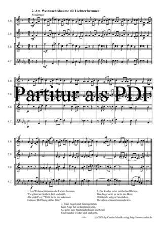 Weihnachtslieder Texte Sammlung.Weihnachtslieder Sammlung Noten Gemischtes Ensemble