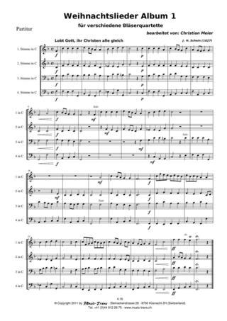 Verschiedene Weihnachtslieder.Weihnachtslieder Album 1 Noten Gemischtes Quartett Georg