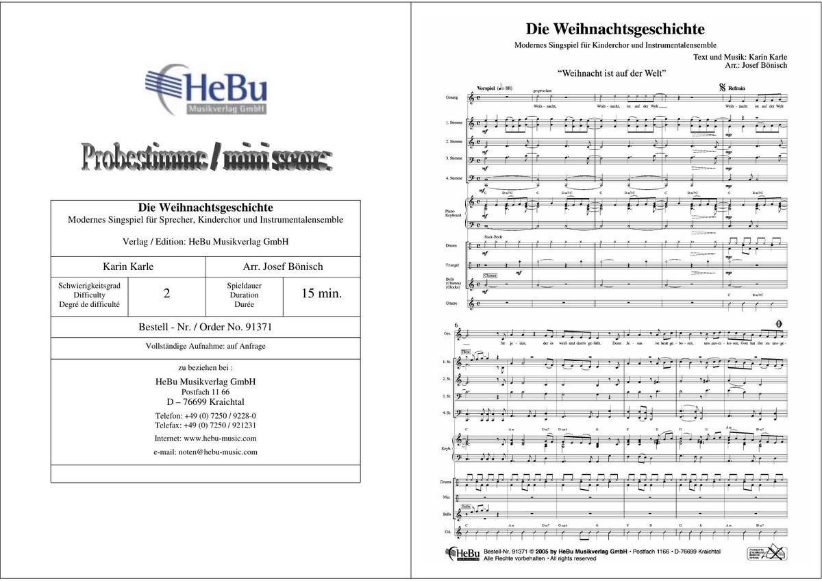 Weihnachtslieder Für Kinderchor Noten.Dvo Druck Und Verlag Obermayer Gmbh