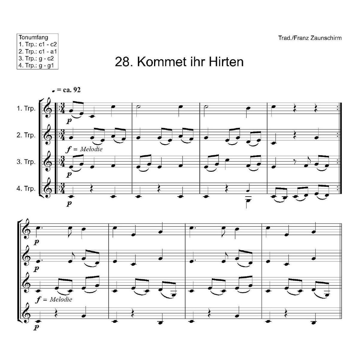 Weihnachtslieder Noten Pdf