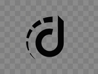 Compact logo, black