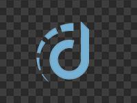 Compact logo, blue