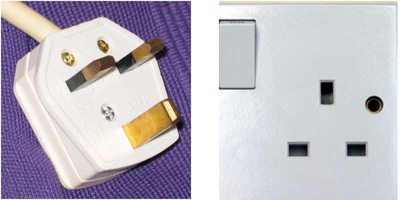 G type plug and socket