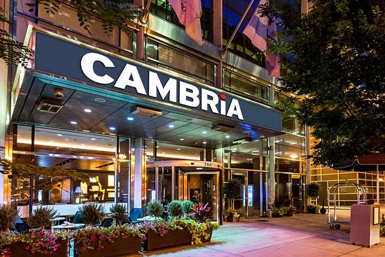 Cambria hotel entrance small