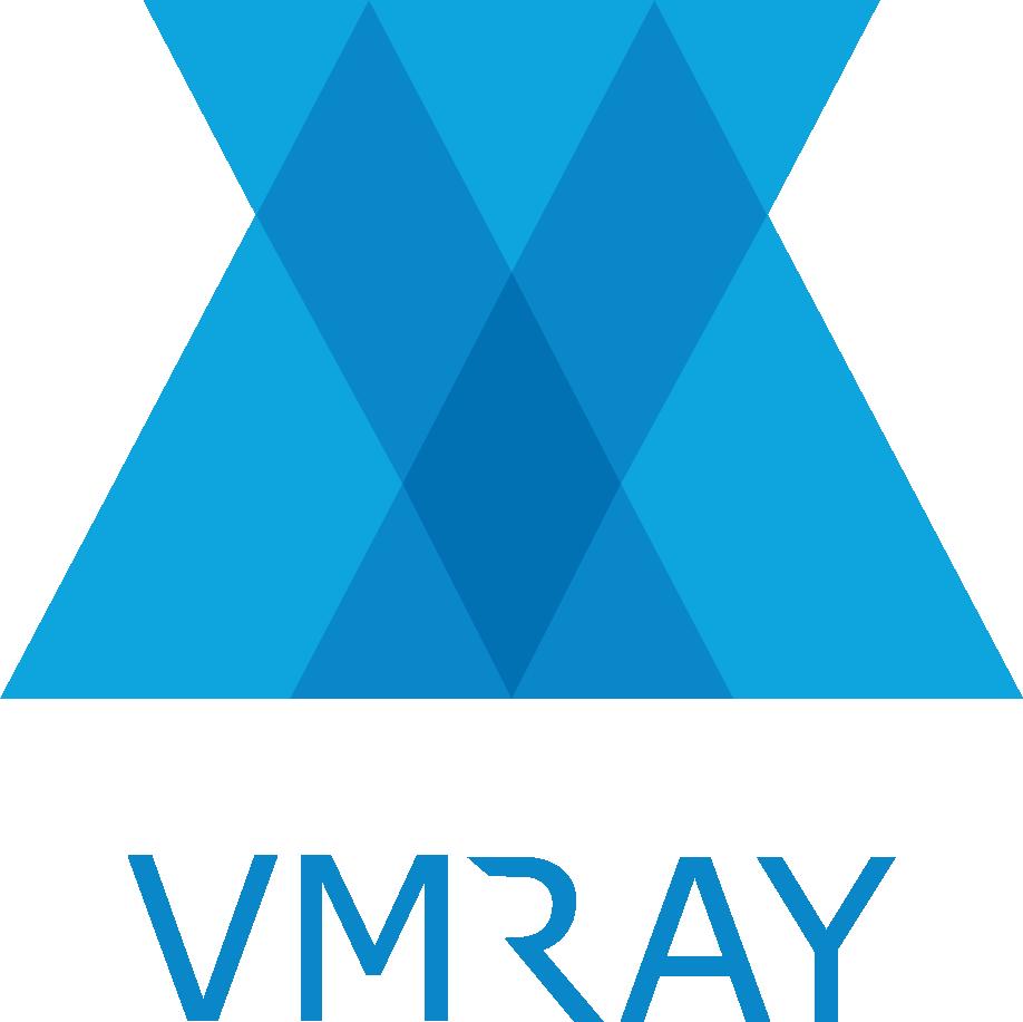 VMRay logo bluetext 300x300 border