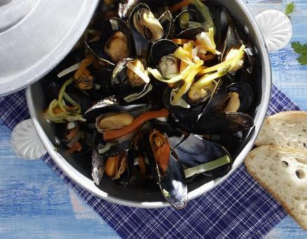 Nordsee pur: Miesmuscheln aus dem deutschen Wattenmeer