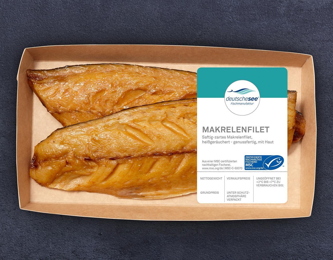 Makrelenfilet heißgeräuchert jetzt kaufen!