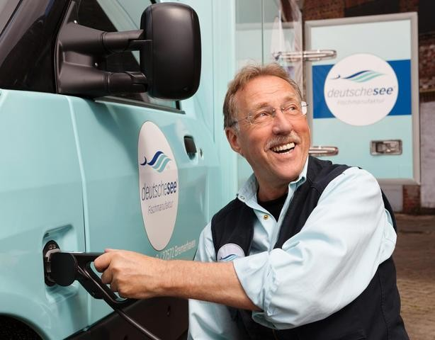 Deutsche See fährt Streetscooter