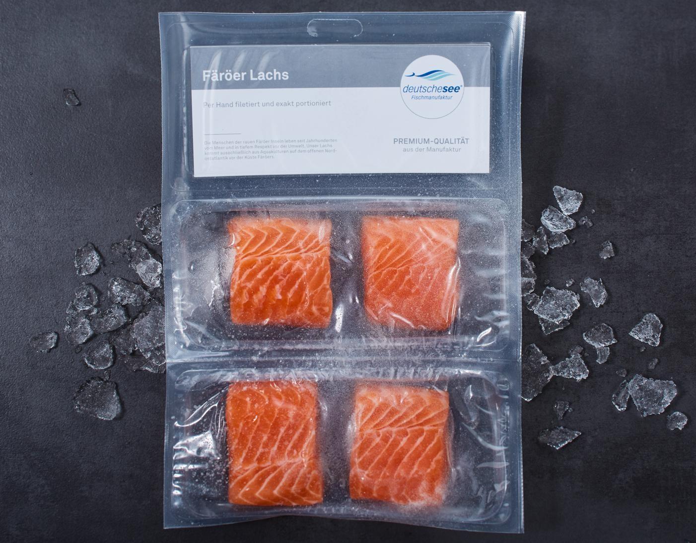 Färöer Lachs · Handfiletierte Portionen · TK jetzt kaufen!