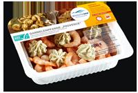 Frischer-Fisch-aus-dem-Kuehlregal-Garnelenpfanne-Provence-Produkte-Spezialitaeten