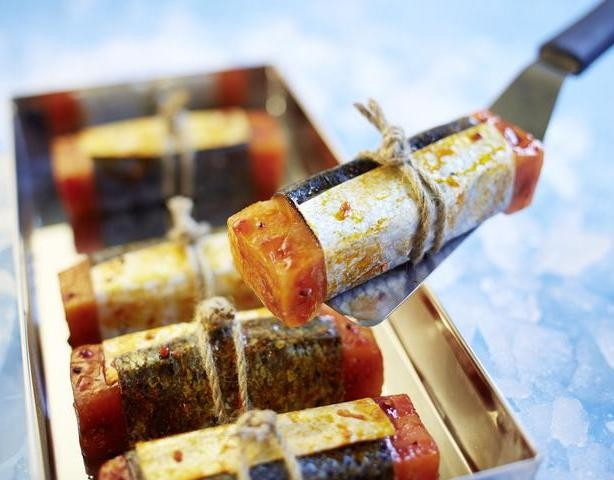 Branchenpreis Seafood Star für Lachs BBQ in Grillhaut