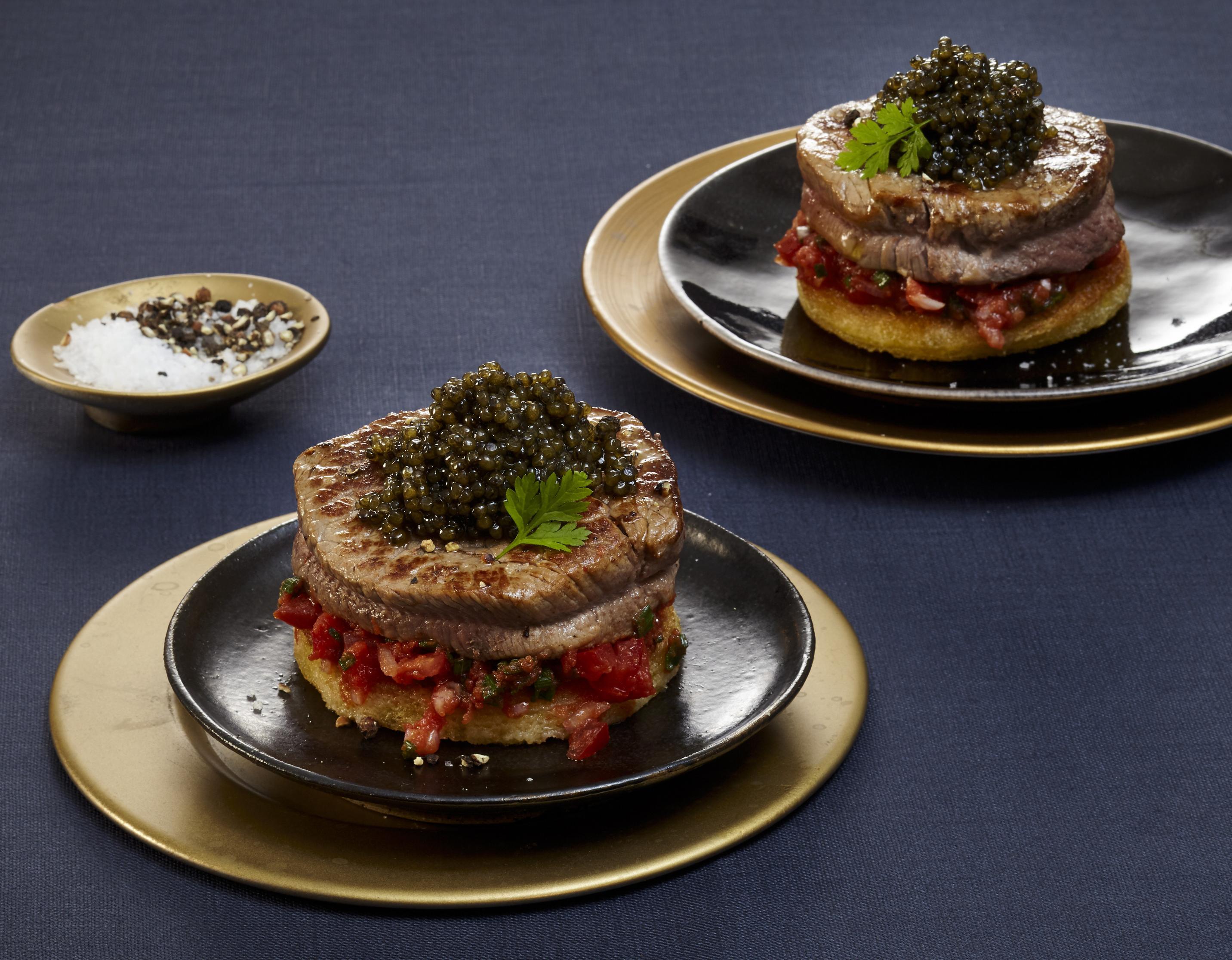 Schlemmerschnitte mit Kaviar