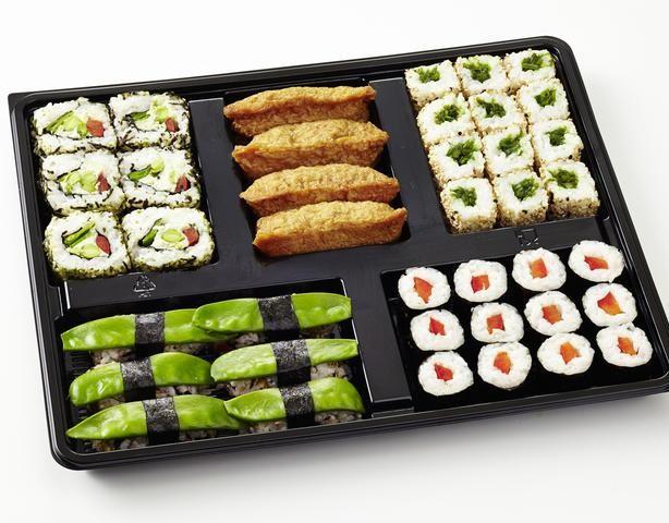 Vegetarisches Sushi - Voll im Trend