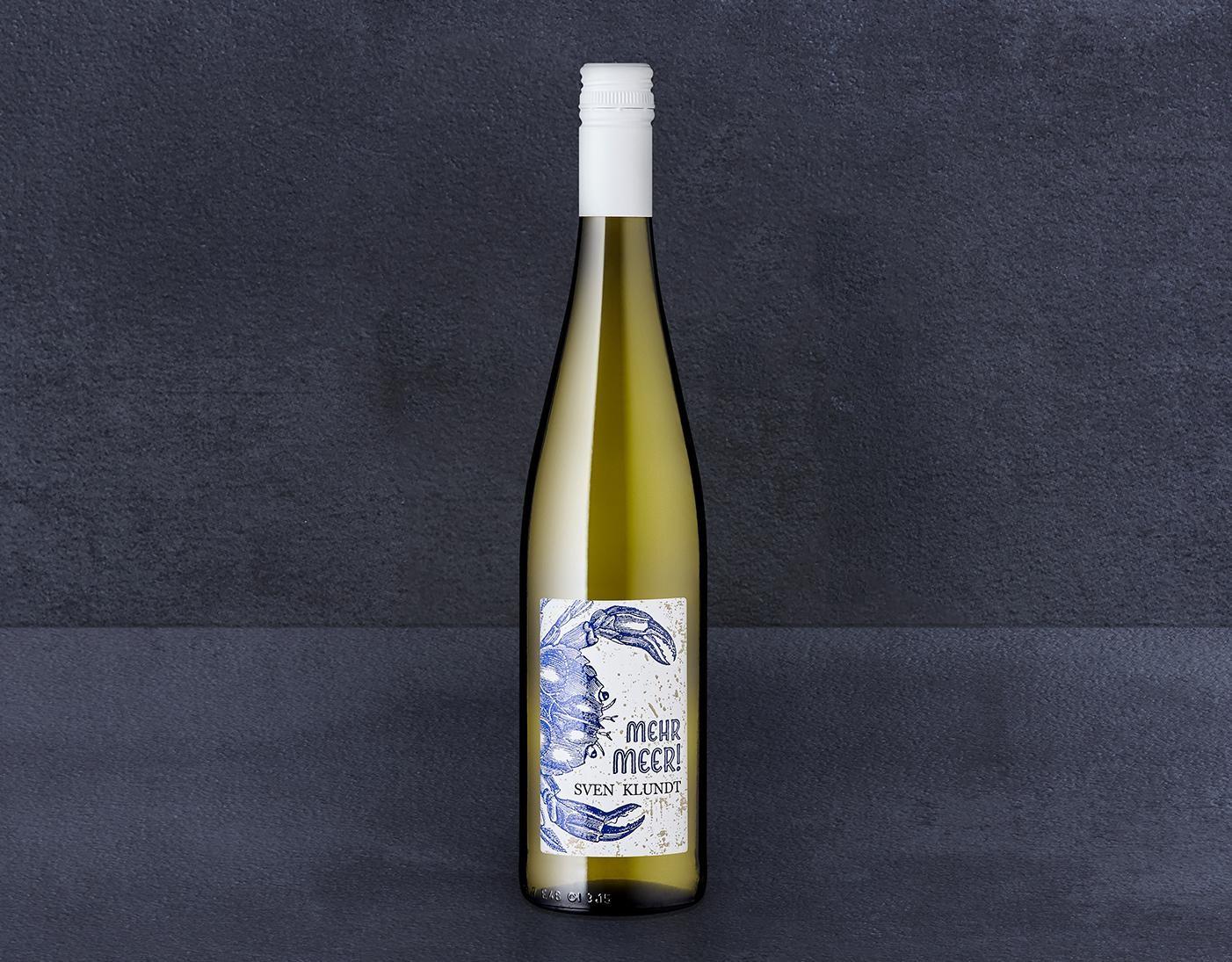 »Mehr Meer« Riesling trocken, Weingut Klundt jetzt kaufen!