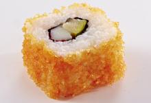 California-Roll-Surimi-Zucchini-Masago-Wissen-Sushi-Lexikon