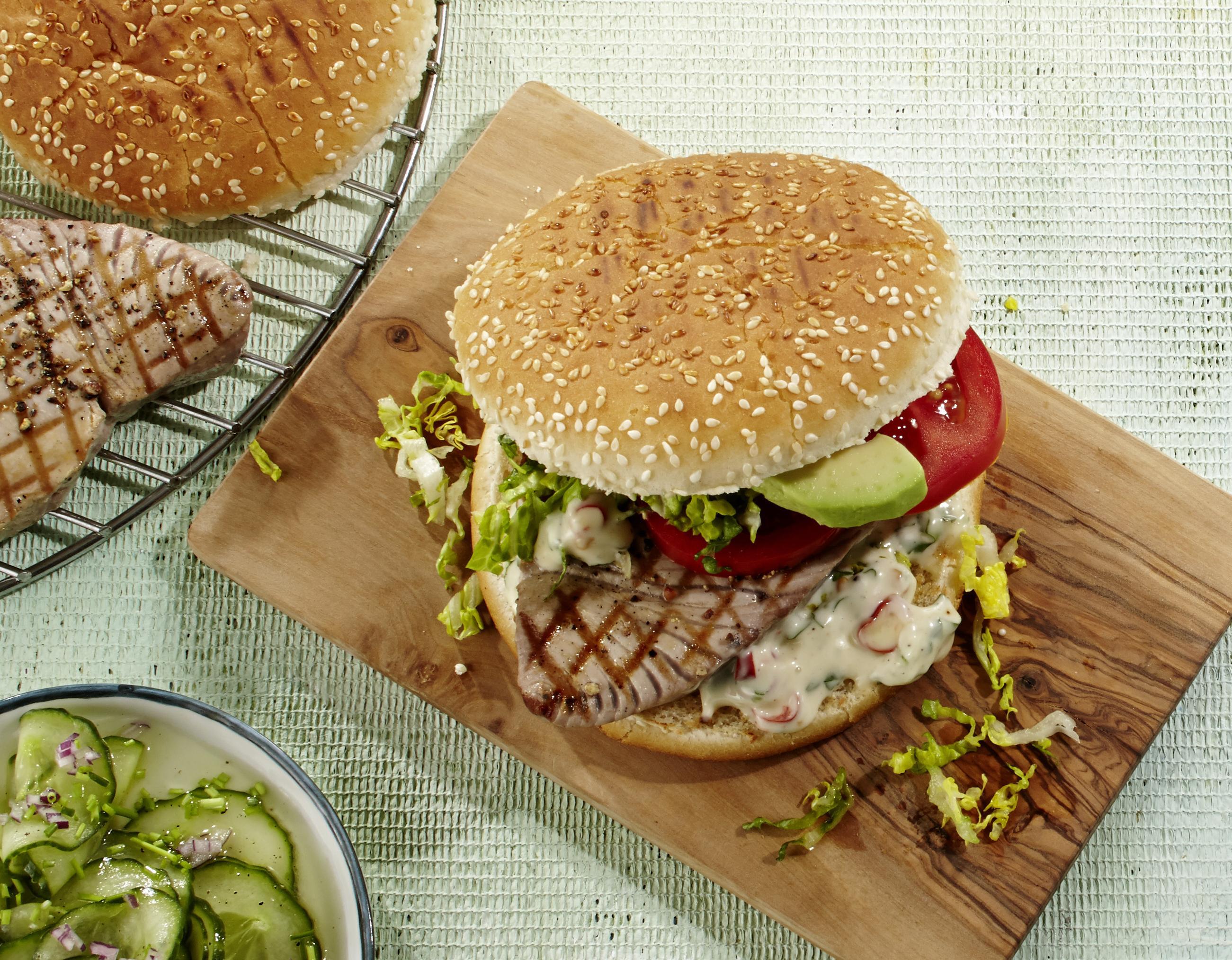 Fischburger Thunfisch