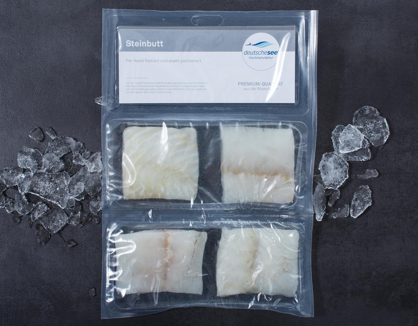 Steinbutt · Handfiletierte Portionen · TK jetzt kaufen!