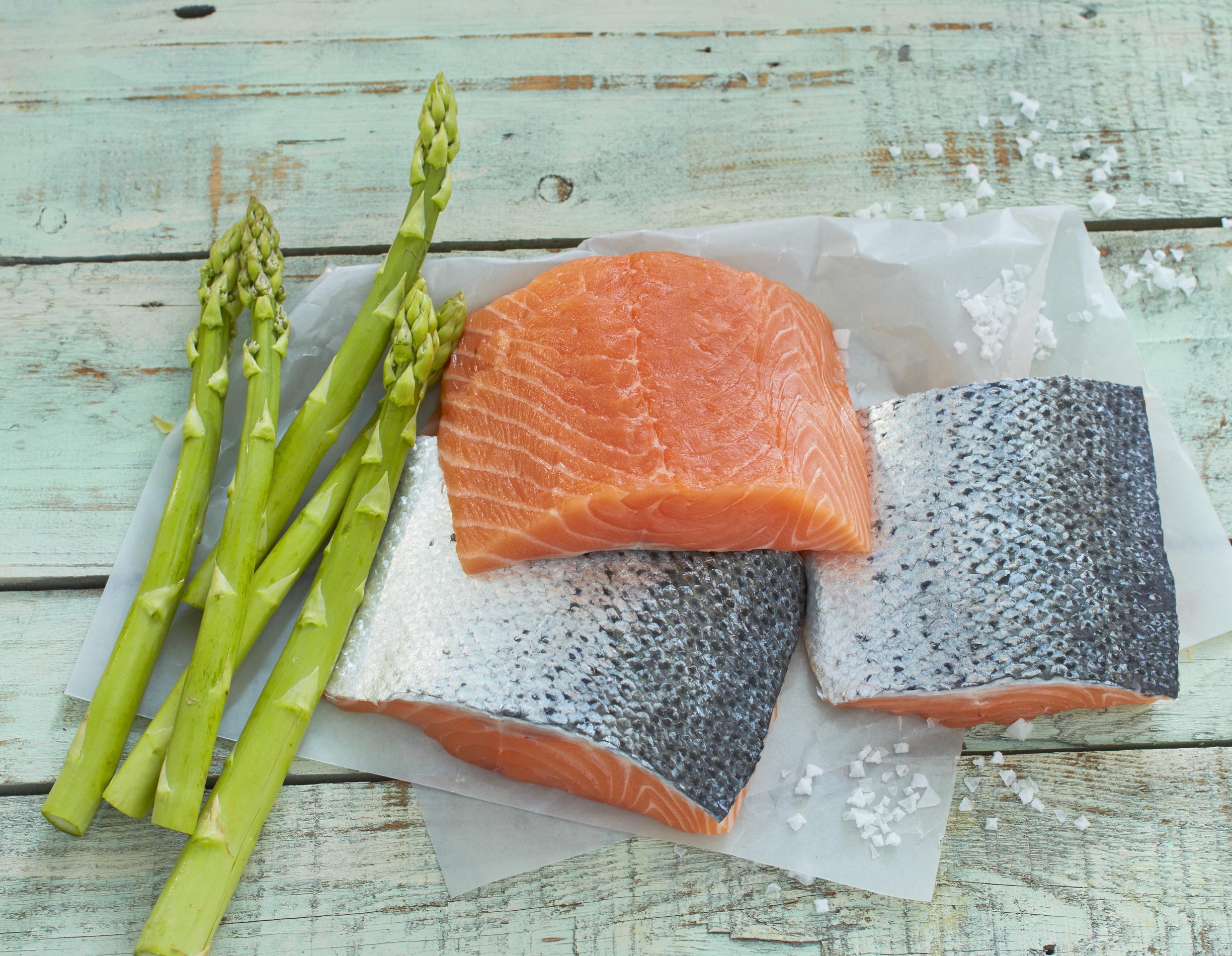 Rezepte mit Fisch & Spargel