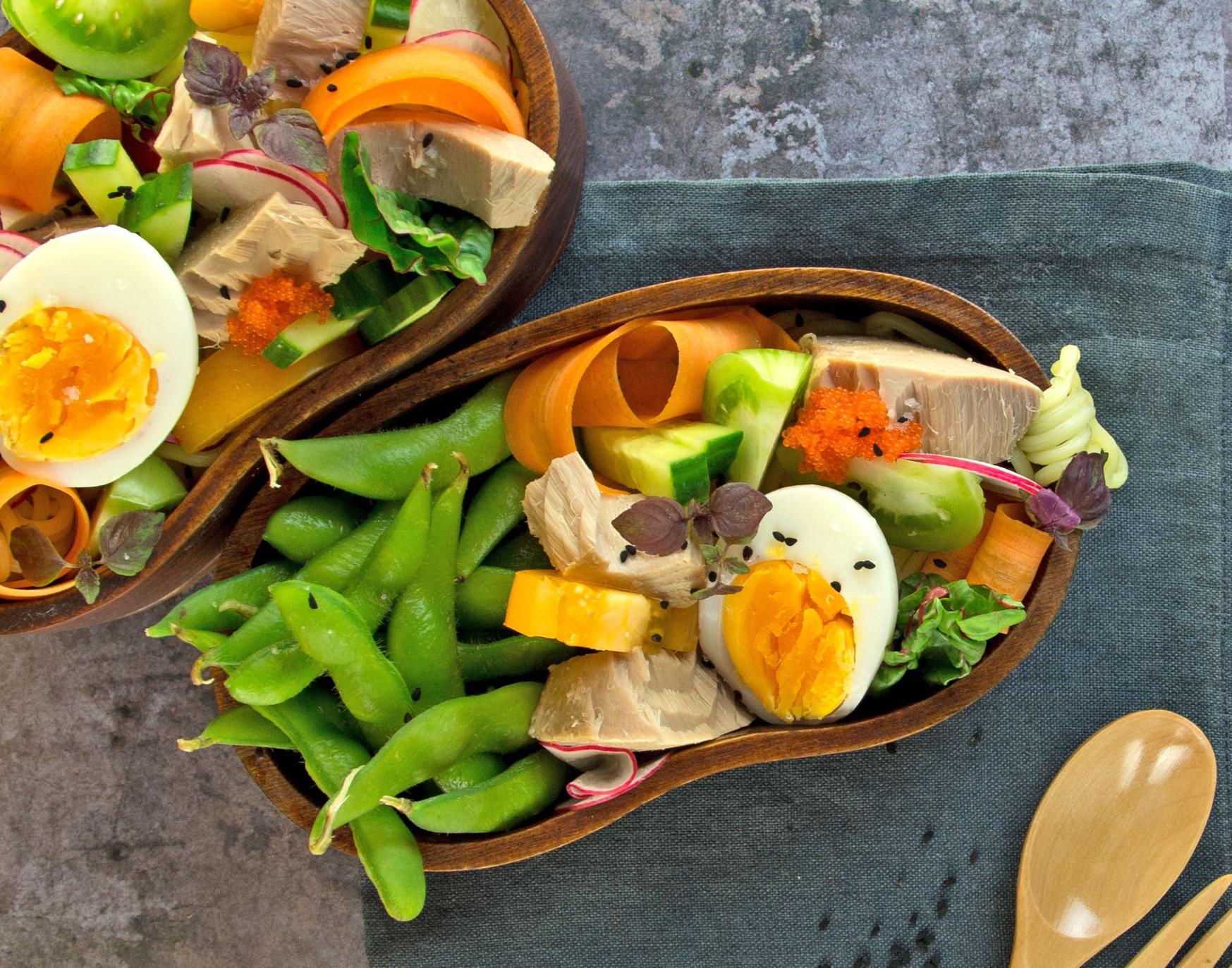 Japanischer Thunfischsalat