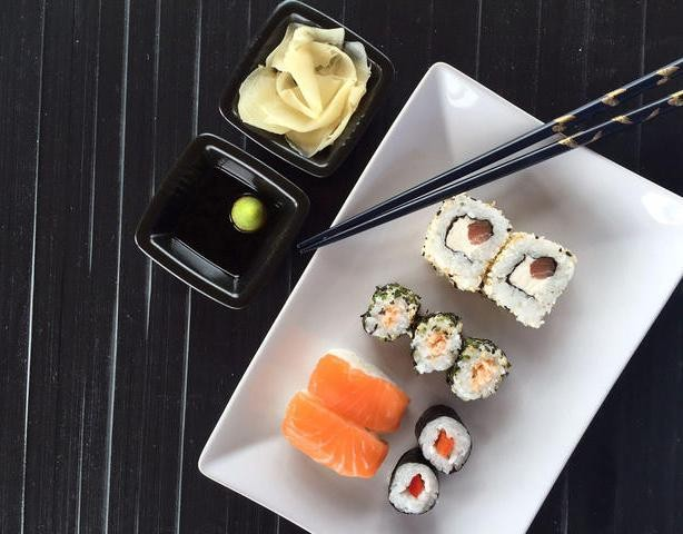 Frisches Sushi im neuen Gewand