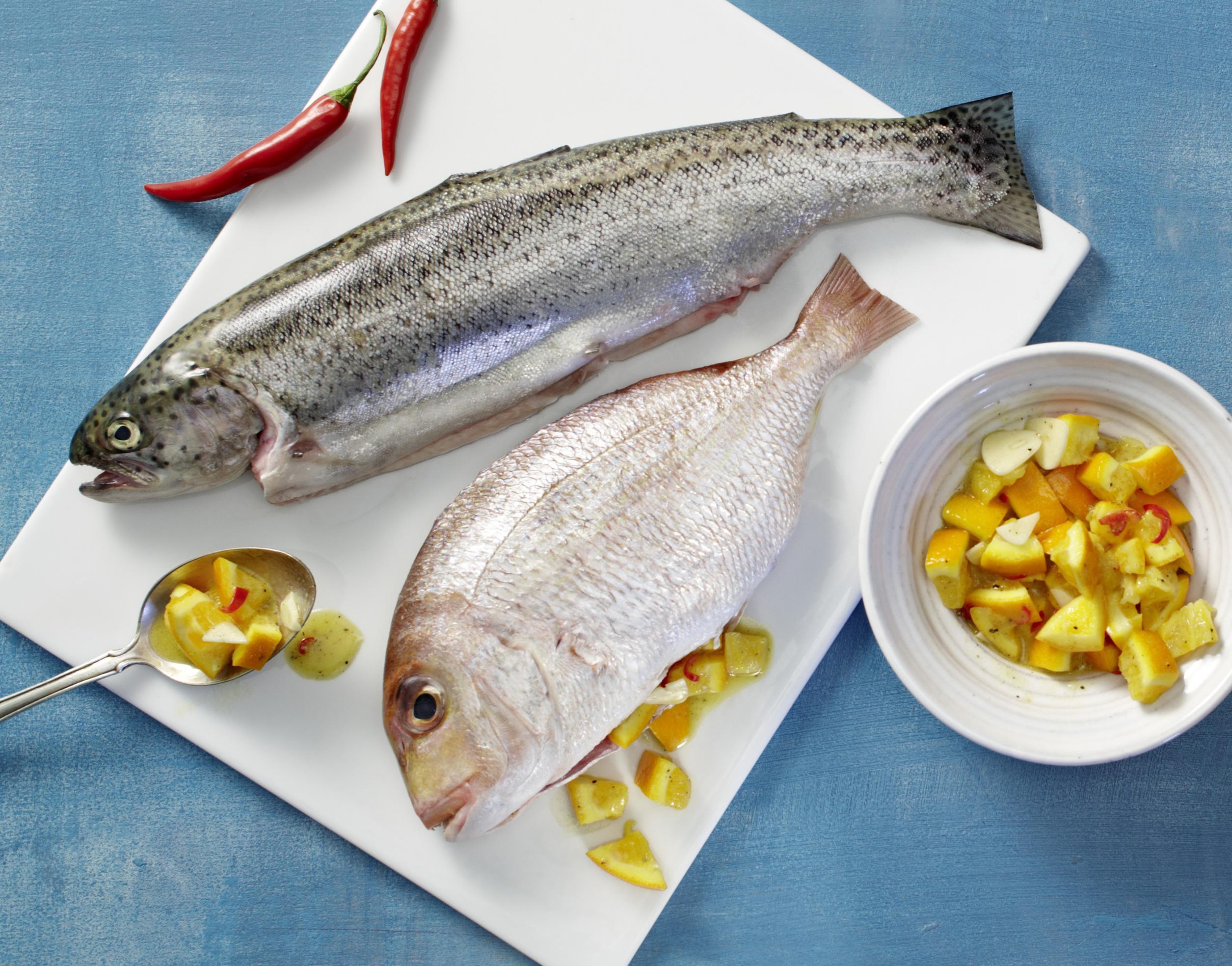 Füllungen für Fisch