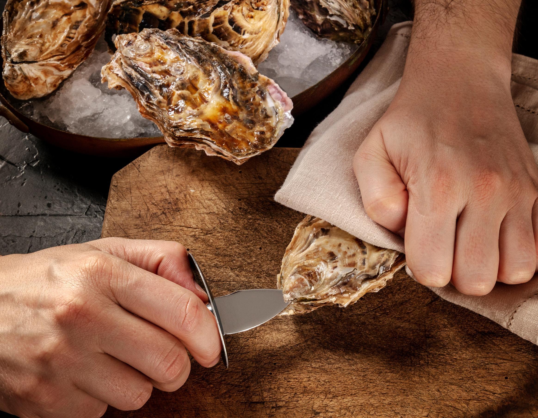 Wie öffne ich eine Auster?