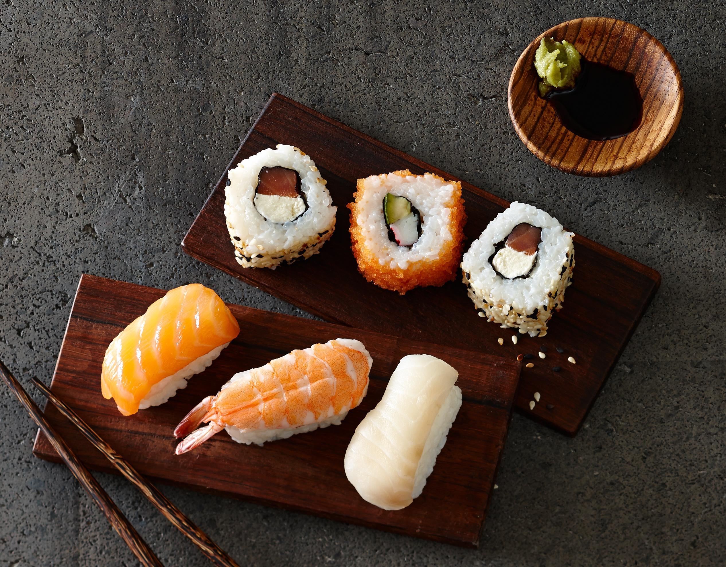 Sushi für die Gastronomie