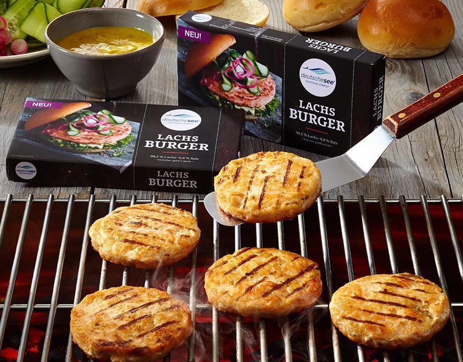 Lachs Burger jetzt kaufen!