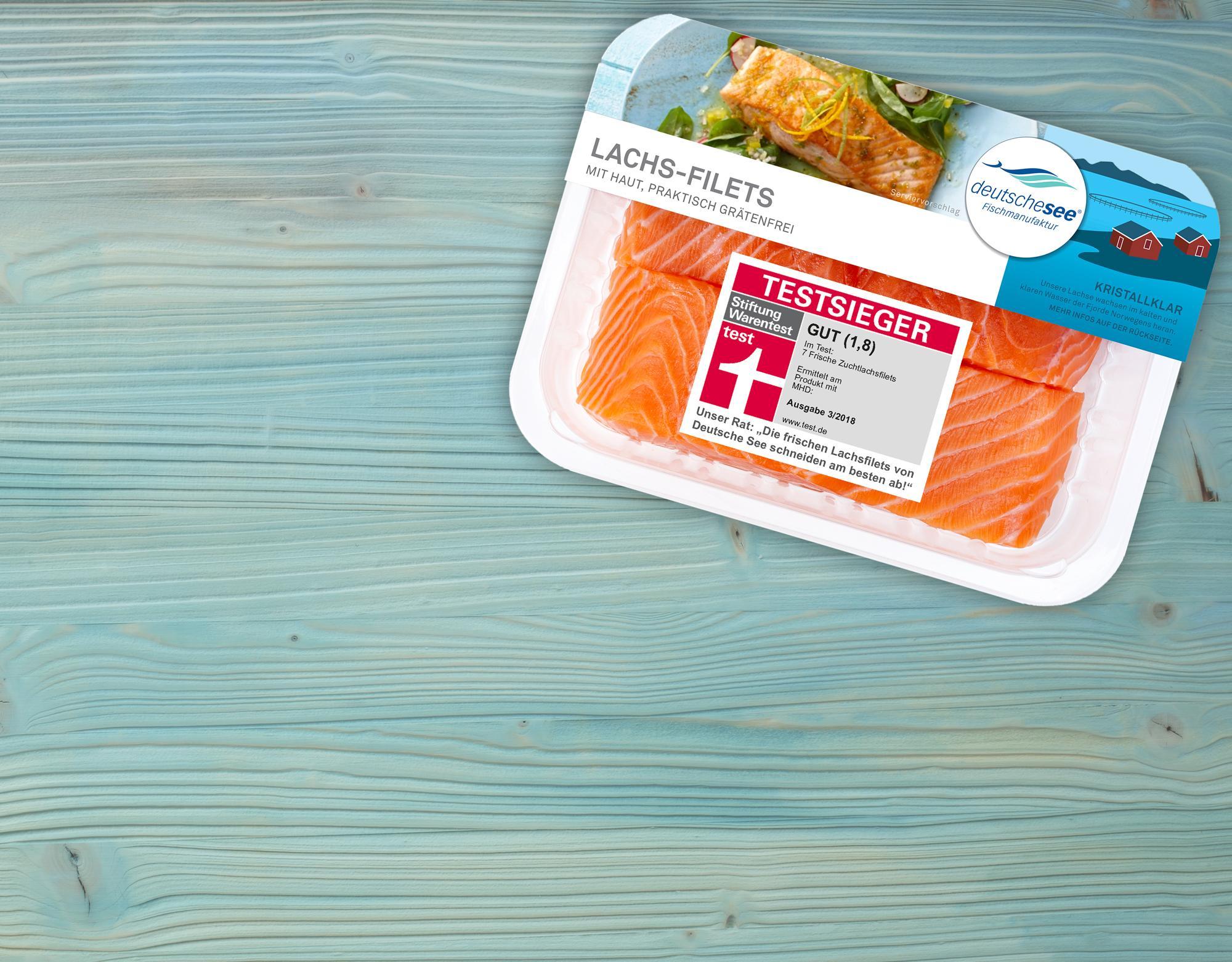 Unsere Lachs-Filets sind wieder Testsieger
