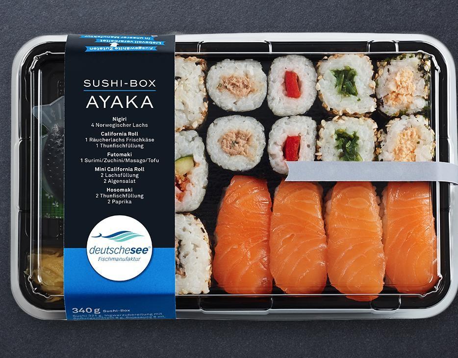 Sushi-Box AYAKA jetzt kaufen!