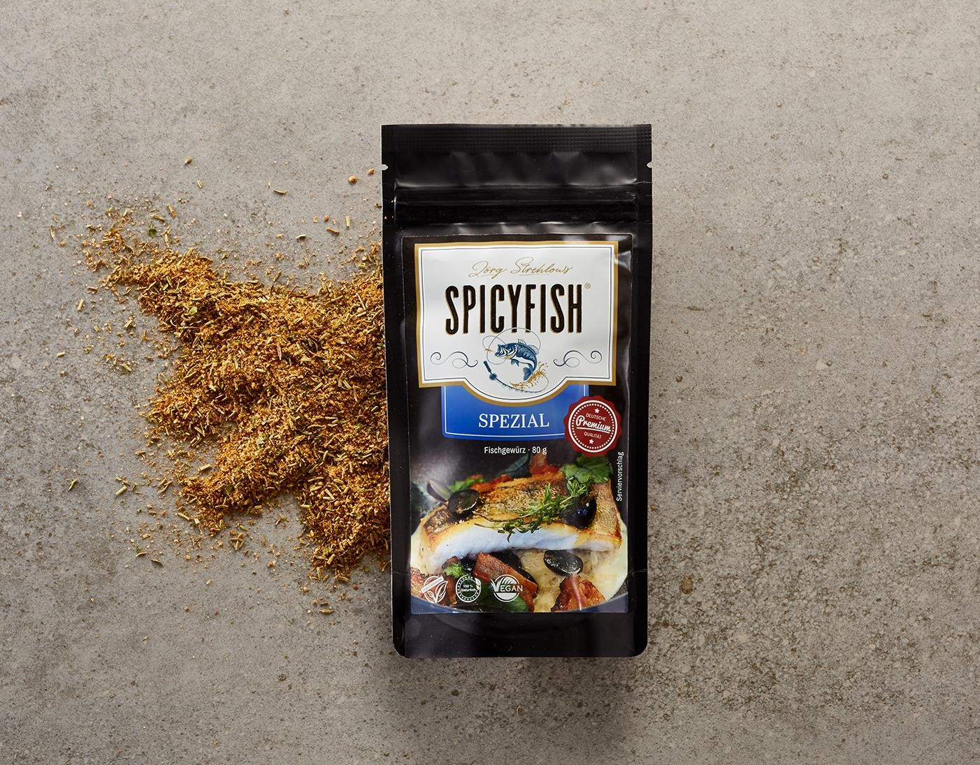 SPICYFISH »Spezial« Gewürzmischung jetzt kaufen!