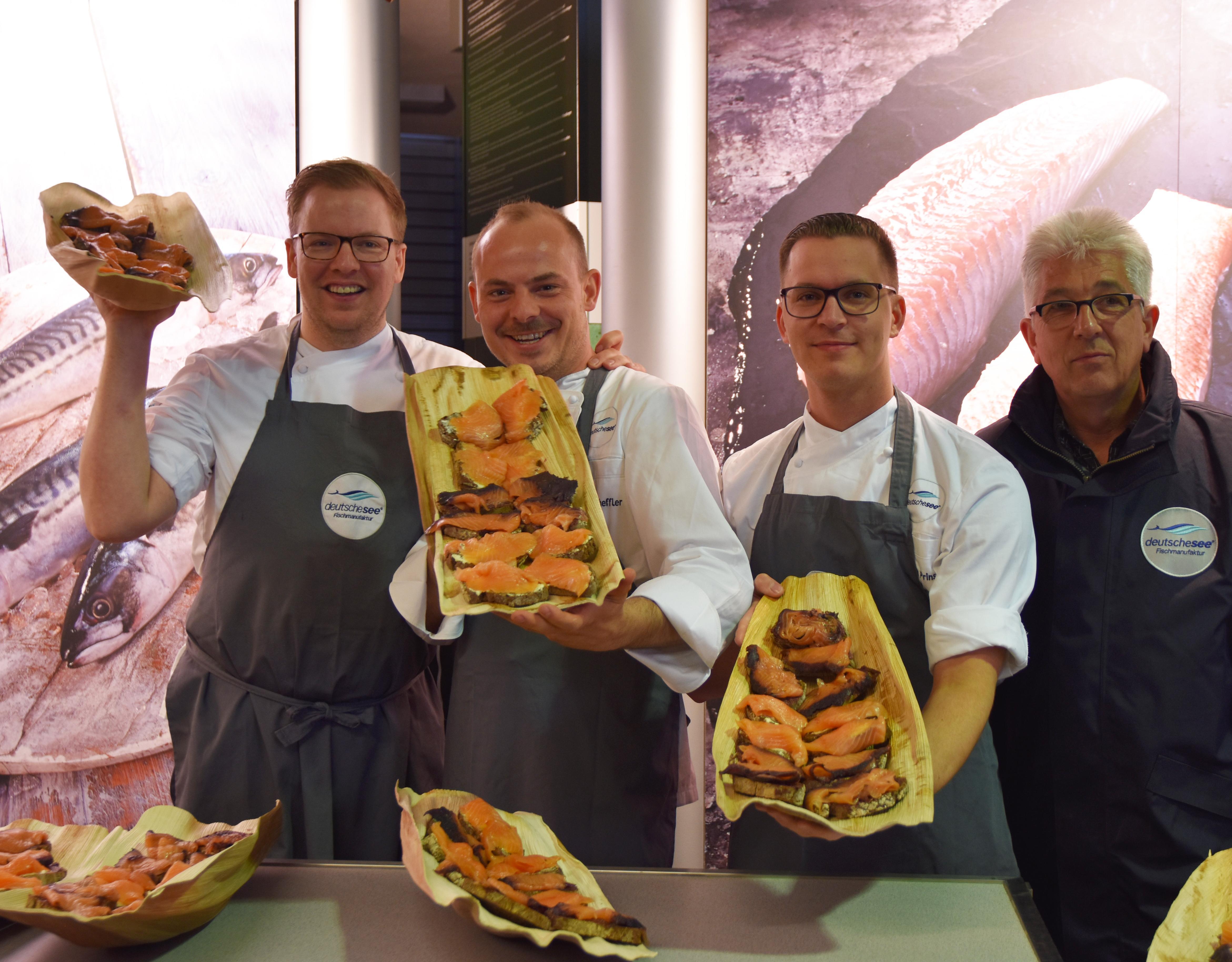 Deutsche See beim 21. Sterne-Cup der Köche in Ischgl