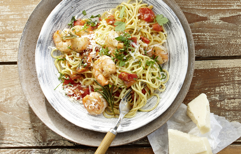 Scharfe-Spaghetti-mit-Garnelen-Rezepte-Hauptgerichte-780x500