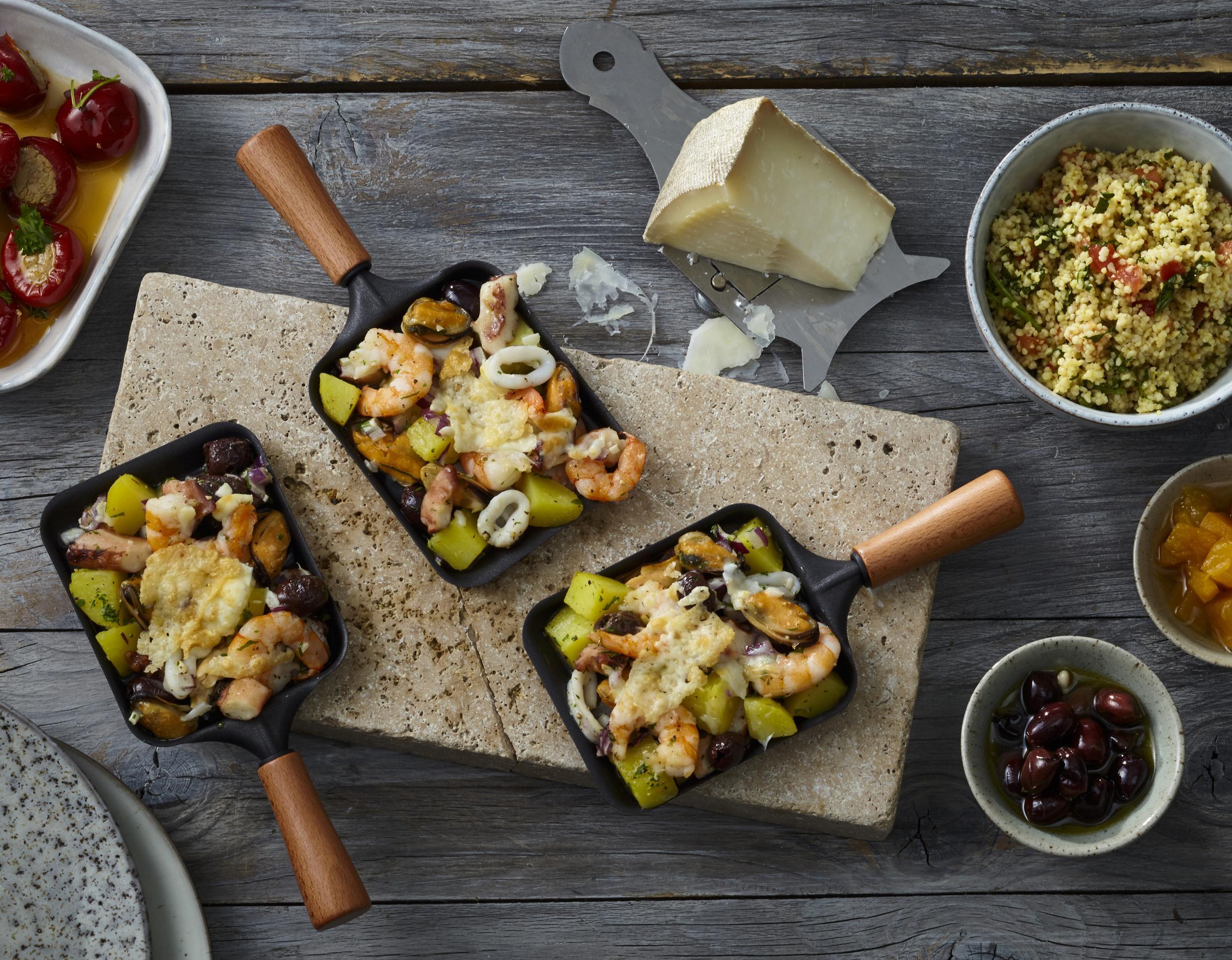Frutti di Mare aus dem Raclette