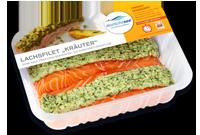 Frischer-Fisch-aus-dem-Kuehlregal-Lachs-Filet-Kraeuter-Produkte-Spezialitaeten