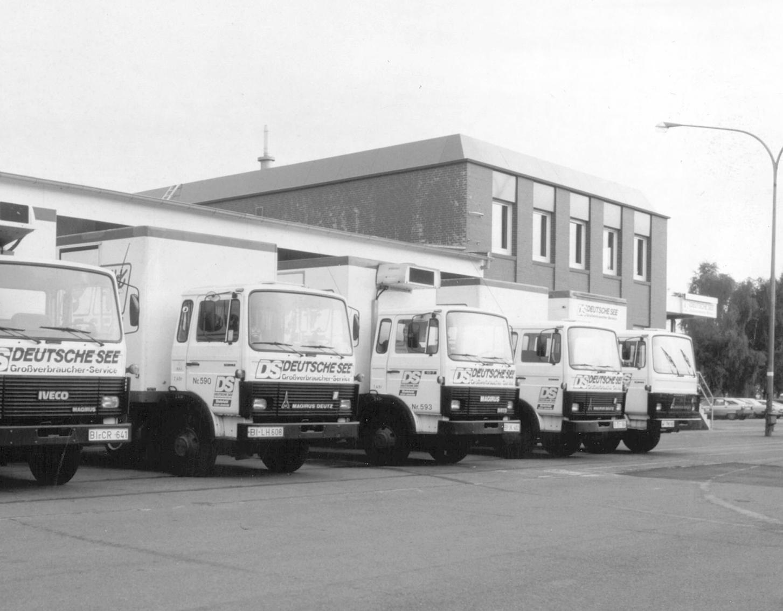 Unsere Fahrzeuge in den 80-Jahren