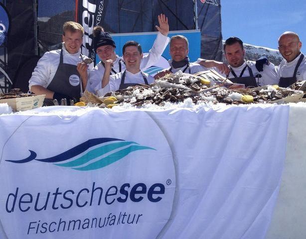 Deutsche See beim 17. Sterne-Cup der Köche in Ischgl