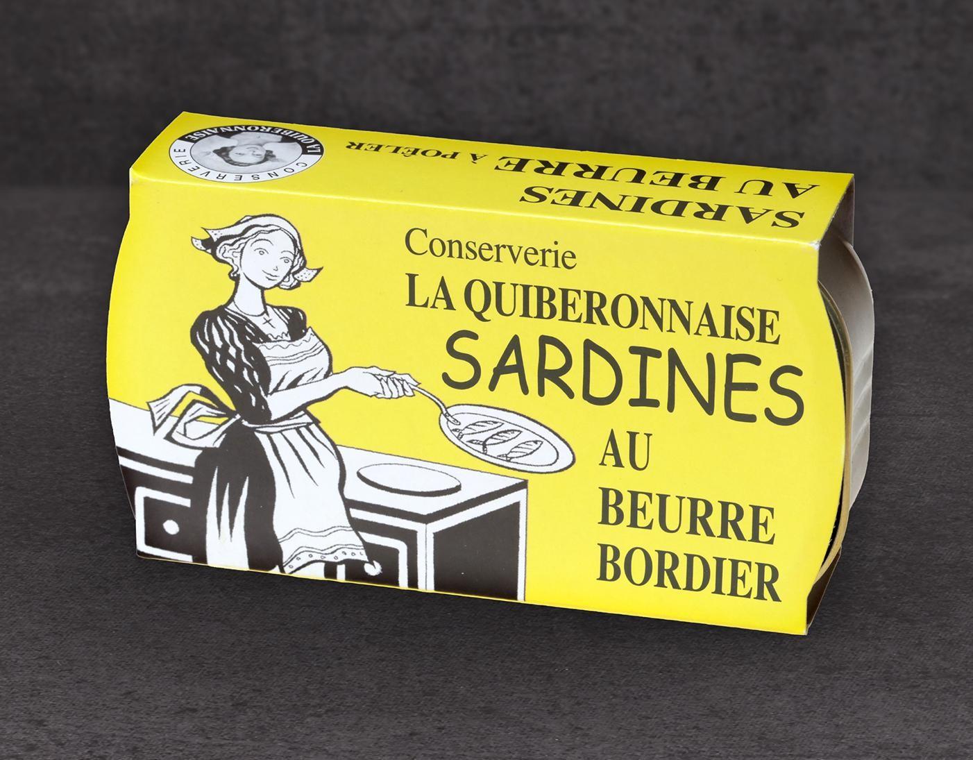 La Quiberonnaise · Sardinen in bretonischer Butter jetzt kaufen!