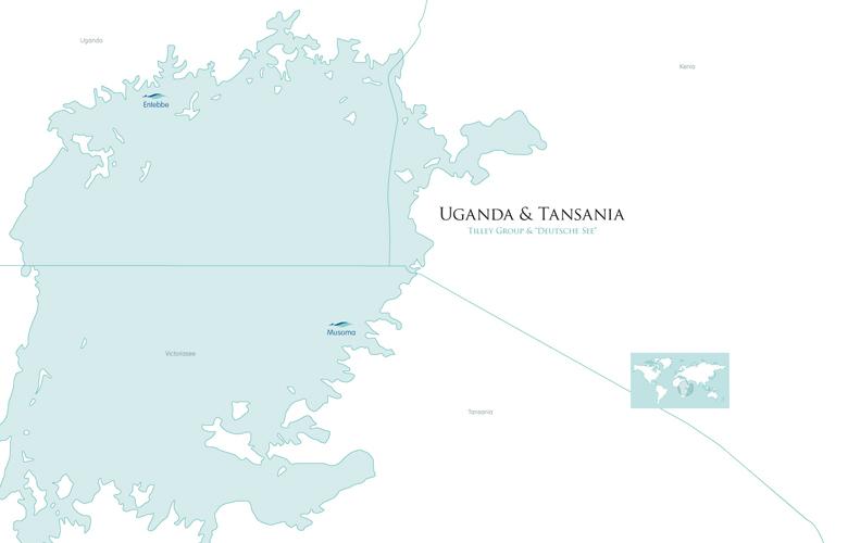 Die-Generation-Barsch-Karte-Norwegen-und-Tansania-DeutscheSee
