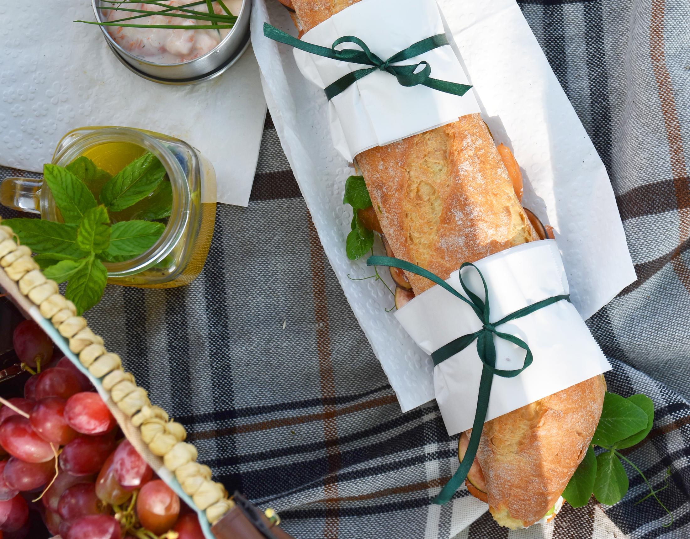 Picknick-Rezepte mit Seafood
